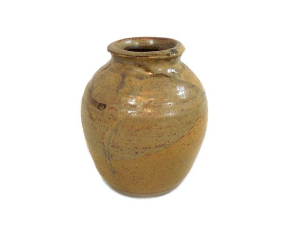 Vintage Signed Studio Pottery Vase