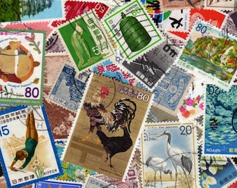 Japan Stamps,50 Diff, Japan Postage Stamps, Japanese Stamps, Japanese Postage Stamps, Asian Stamps, Asian Postage Stamps, Stamp Collection
