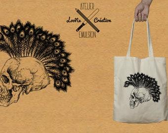 SKULL Loone Creation VS workshop Emulsion TOTEBAG
