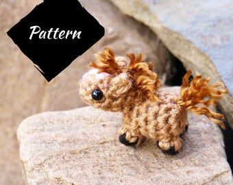 Amigurumi Horse Tutorial : How to add hair to your amigurumi shiny happy world