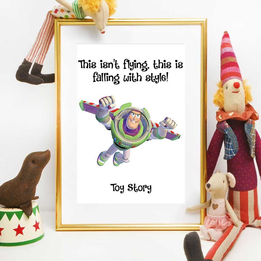 Toy Story impression Disney Quotes imprimable Toy Story