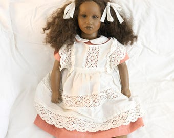 Fatou Barefoot Children by Annette Himstedt doll