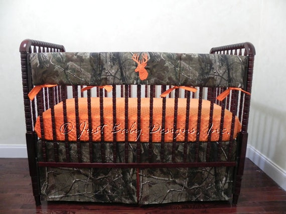 Camo Baby Bedding Set Trent Boy Baby Bedding Crib Rail