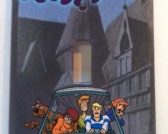 Scooby Doo Single Light Switch Plate Cover