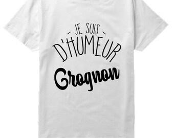 Grumpy mood: Men's T-shirt