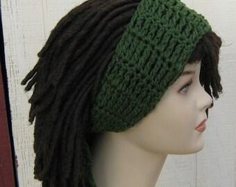 Custom color choice Dread headband dreadband head hair band wrap scarf hippie bandana