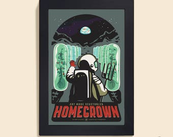 Homegrown - 12 x 18-Plakat