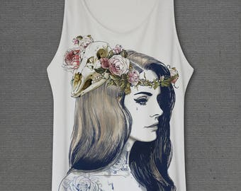 Lana Del Rey Born to die Medium Tank tops Shirt One Size Only
