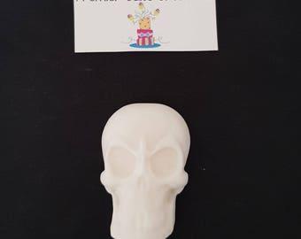 6 Skull Fondant Topper