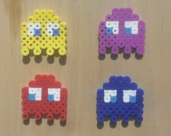 8-Bit Bow -- Pac-Man Ghost