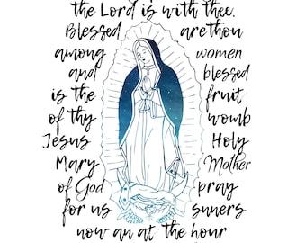 Hail Mary Art