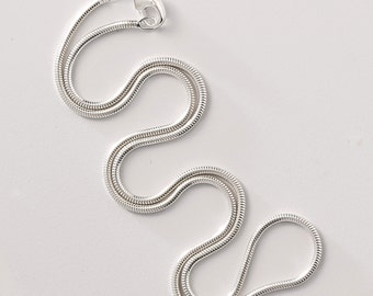 """Sterling silver chain - 20"""" snake chain"""