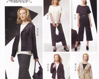 FREE US SHIP Vogue 948 9246 Separates Wardrobe Suit Coat Top Skirt Pants Size  4/14 16/26 Bust 29 30 32 34 36 38 40 42 44 46 48 New