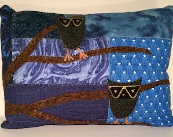 Whimsical Owls Rectangular Pillow