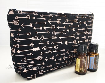 Essential Oil Bag, Essential Oil Pouch, Essential Oil Travel, Essential Oil Storage . . . holds 14 bottles
