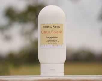 Citrus Splash Goat Milk Lotion