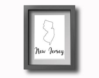 PRINTABLE New Jersey Wall Art!