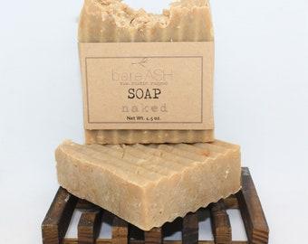 bareASH Naked Goat Milk Soap