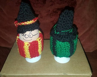 Harry Potter themed Egg Cosies