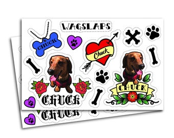 Custom Pet Temporary Tattoos