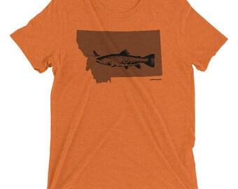 Montana Fly Fishing - Short sleeve t-shirt