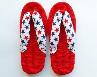 Nuno Zori, Waraji, Slippers, Sandals, Barefoot Sandals, Flip Flops, Room Slippers, Room shoes