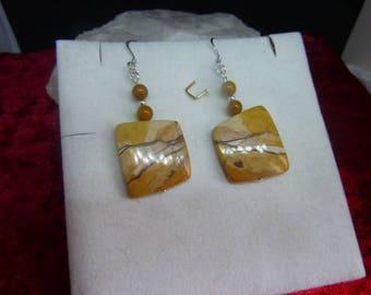 Genuine MOOKAITE earrings