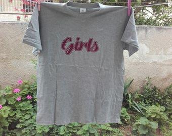 Girls Shirt From Friends -Girls tv  t-shirt  feminist 100% cotton