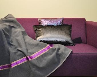 ALMEE Blanket size 190x130 cm