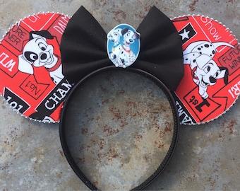101 Dalmatians Mickey ears , 101 Dalmatians Minnie ears