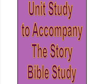 Bible Unit Study Lapbook to Accompany The Story
