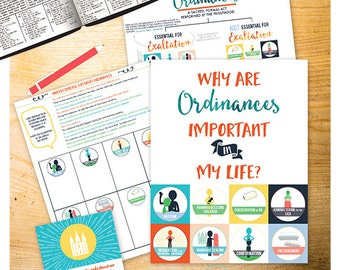 July {Come Follow Me} Why are Ordinances important in my life?  Teaching Package