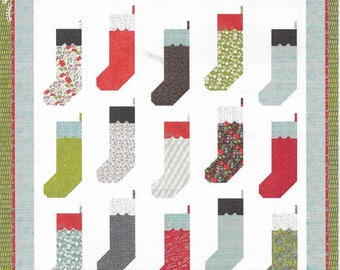 """By The Chimney Quilt Pattern by Lella Boutique, #145, 74"""" x 81"""""""