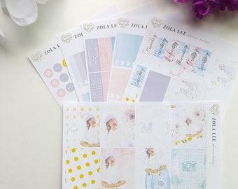 CAMERA GIRL Planner Sticker Kit for Erin Condren, Happy Planner
