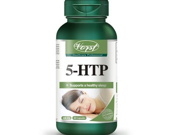 Vorst 5-htp 100mg 60 Capsules Natural Sleep Aid Insomnia Remède contre l'insomnie 5-Hydroxytryptophan Supplement Somnifère Sleeping Pills