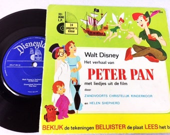 Peter Pan Book with Vinyl Record