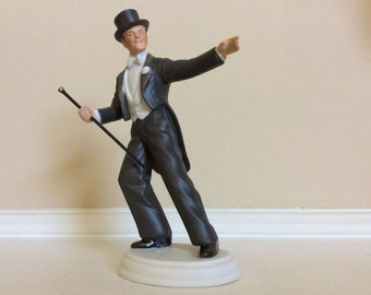 Fred Astaire as Josh Barley Figurine Broadway Hollywood Series Collectible, Avon.