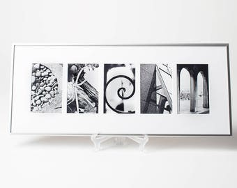 Alphabet Photography 'DREAM' Sign, Inspirational Letter Photo Art