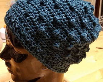 Thistle Fields Crochet Beanie *****PATTERN ONLY*******