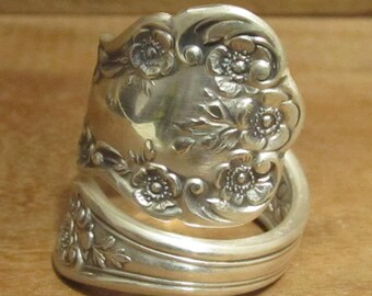 Spoon Ring, Gorham Buttercup, Sterling Silver 15.5 grams, Size 9, #210