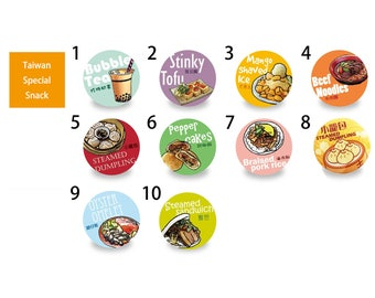 Magnet Bottle  Opener Taiwan Special Snack Series