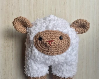 Baby Lamb Rattle / Baby Toy