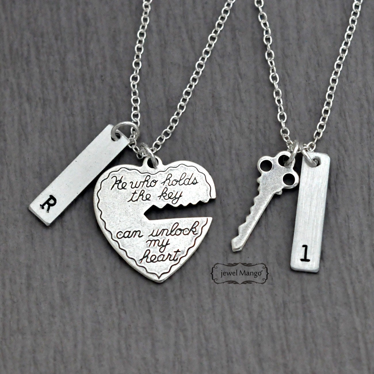 gift wife you i itm s necklace love ebay for to heart and husband pendant gold