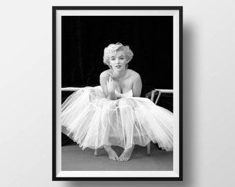 Marilyn Monroe Poster Print, Wall Art, Home Decor, Vintage