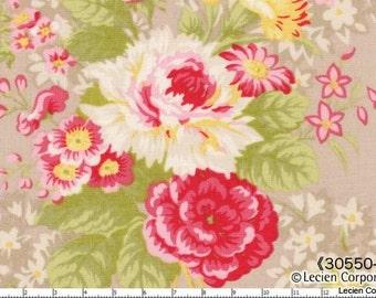 Hill Farm - Pebble Bouquet by Brenda Riddle for Lecien Fabrics