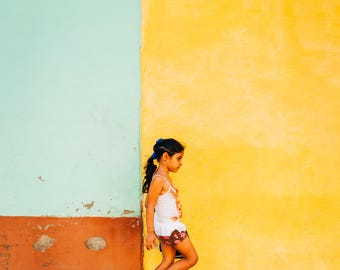 Streets of Cuba - Photography Fine Art Print, Living Room Print, Travel Photography, Cuban Art, Wanderlust, Urban Art, Street Scene, Cuba