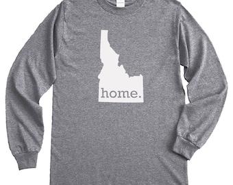 Homeland Tees Idaho Home Long Sleeve Shirt