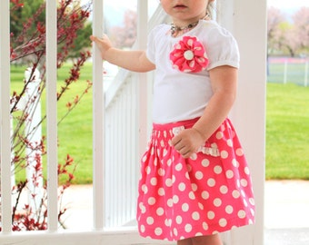 Baby Girl Bottoms including 2 fun skirts, shorts, pants, diaper covers and bloomers.