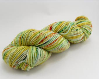 Hand Dyed Yarn Speckle Gourds MCN DK handdyed hand-dyed
