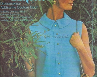 ON SALE Golden Hands Encyclopaedia of Knitting Dressmaking and Needlecraft Guide Part 9 1970s